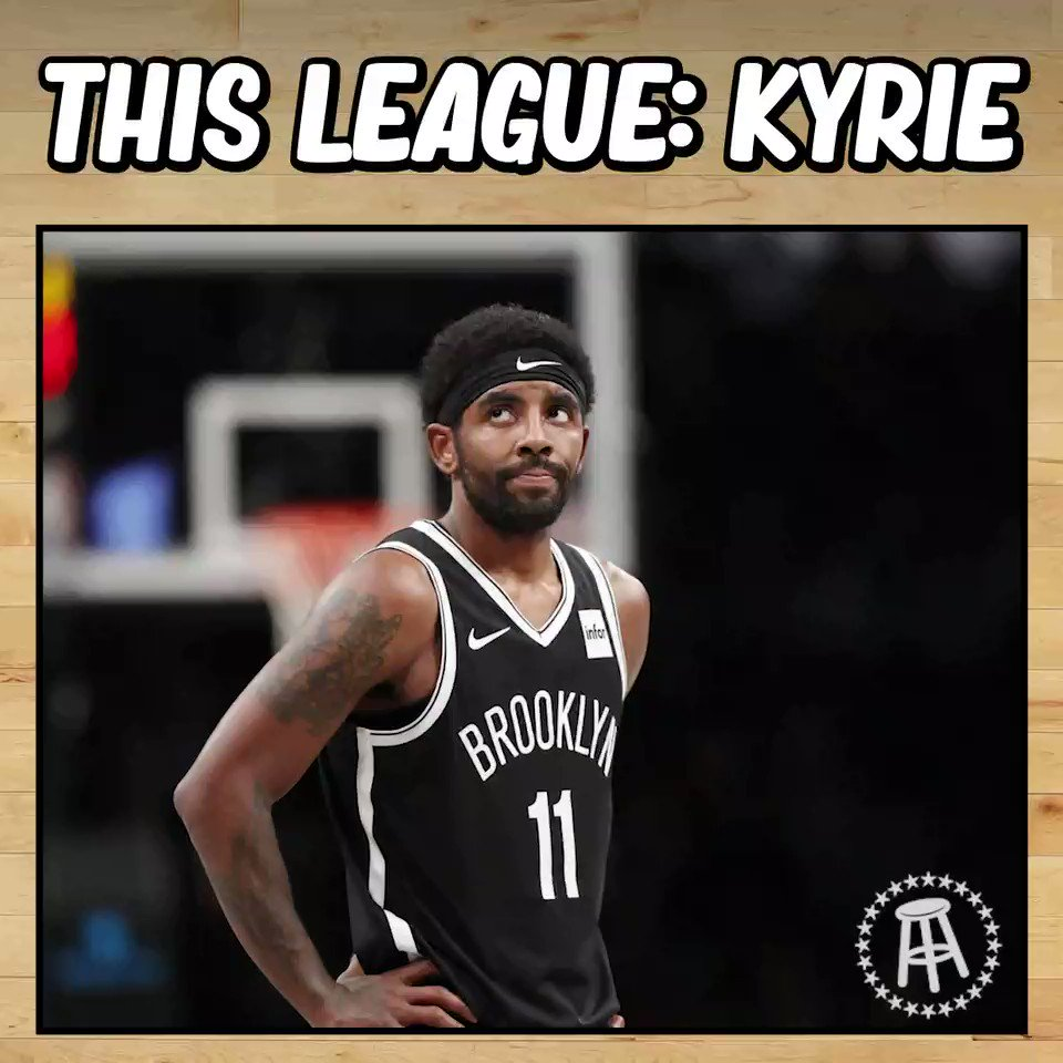 PardonMyTake - What on Earth (pun certainly intended) is going on with Kyrie?