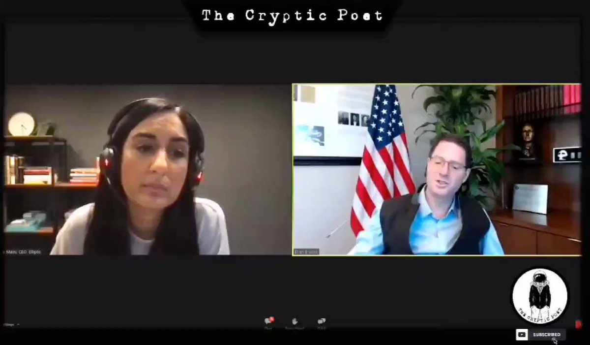 🔥 Brian Brooks, OCC, says banks can now be stakers on the Ethereum blockchain. Full Video: 👇 youtu.be/xN5m9l9nwjQ #eth #ethereum #btc #crypto #blockchain $eth #algo $algo