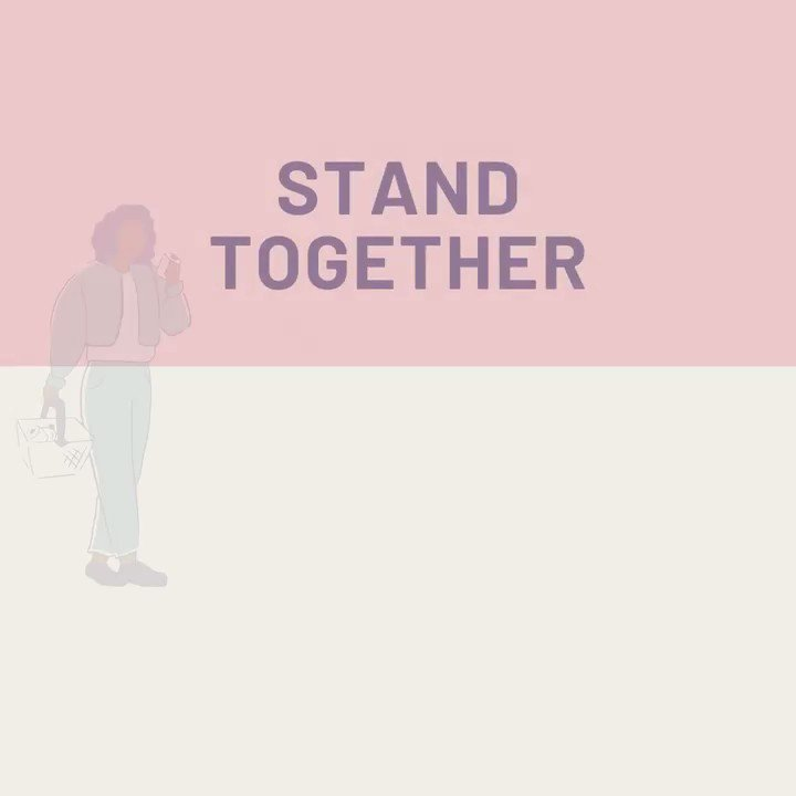 Stand together…by not standing together! Social distancing is critical to #StopTheSpread of COVID19. Make sure you stay six feet apart from those outside your household. h/t @WHO