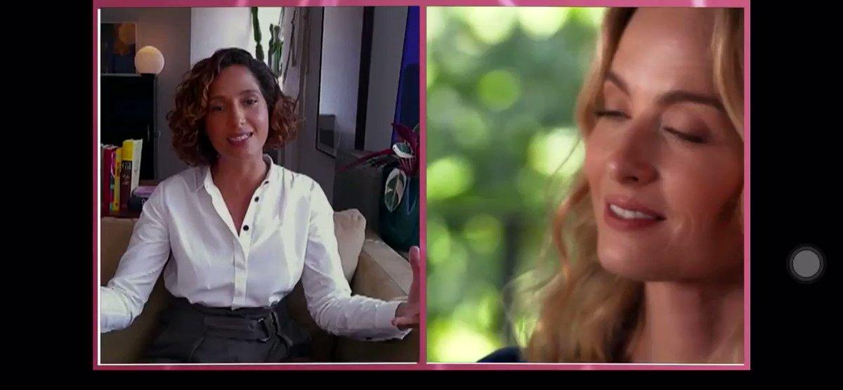 Veja esse vídeo    @globoplay #cartaparaeva @angelicaksy  fala sobre preconceito com @CamilaPitanga é @luanagenot .