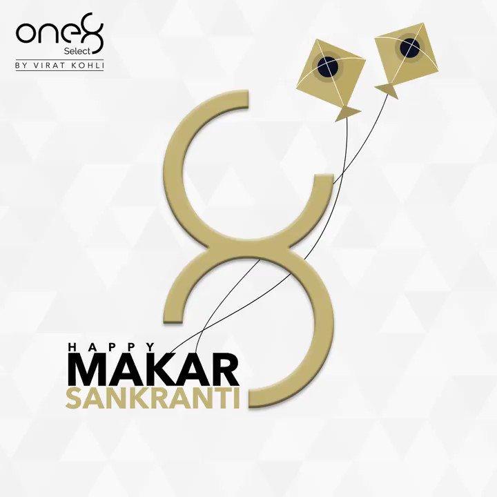 Wishing you all a very Happy Makar Sankranti! #one8 @one8world  . . . #makarsankranti #festivals #one8select #viratkohli #yourbestfootforward #occasions