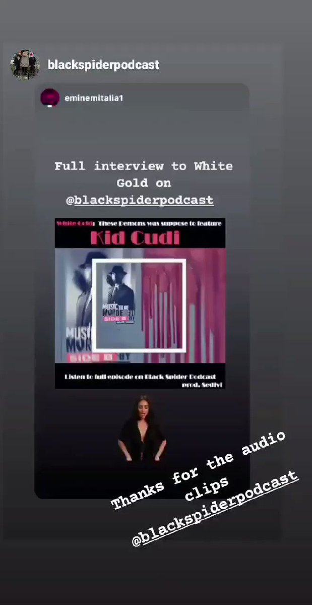 We would like to thank #Blackspiderpodcast for the audio clips they gave us in advance. Thanks also for the repost in your IG  stories. Hereby some other ones Here the link to the full interview to @Blancogold   #eminem #MusicToBeMurderedBy  #SideB