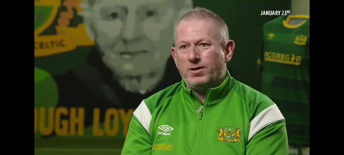 Thanks to @PetesyCarroll and @btsportufc for giving us the opportunity to show what @TheNotoriousMMA has done for our club and what the benefits have happened.   @Alo @Dmurtagh07
