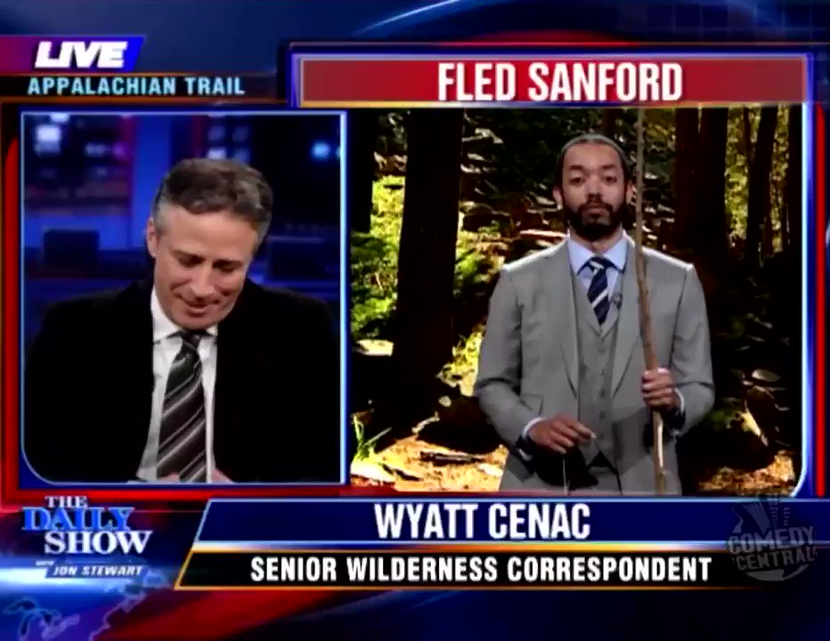 ANYWAY, speaking of coyotes and disgraced Republican politicians, here's one of my all-time favorite Wyatt Cenac bits from The Daily Show. #EveryoneN