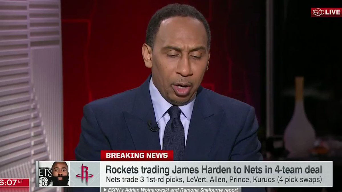 My reaction to the James Harden trade.