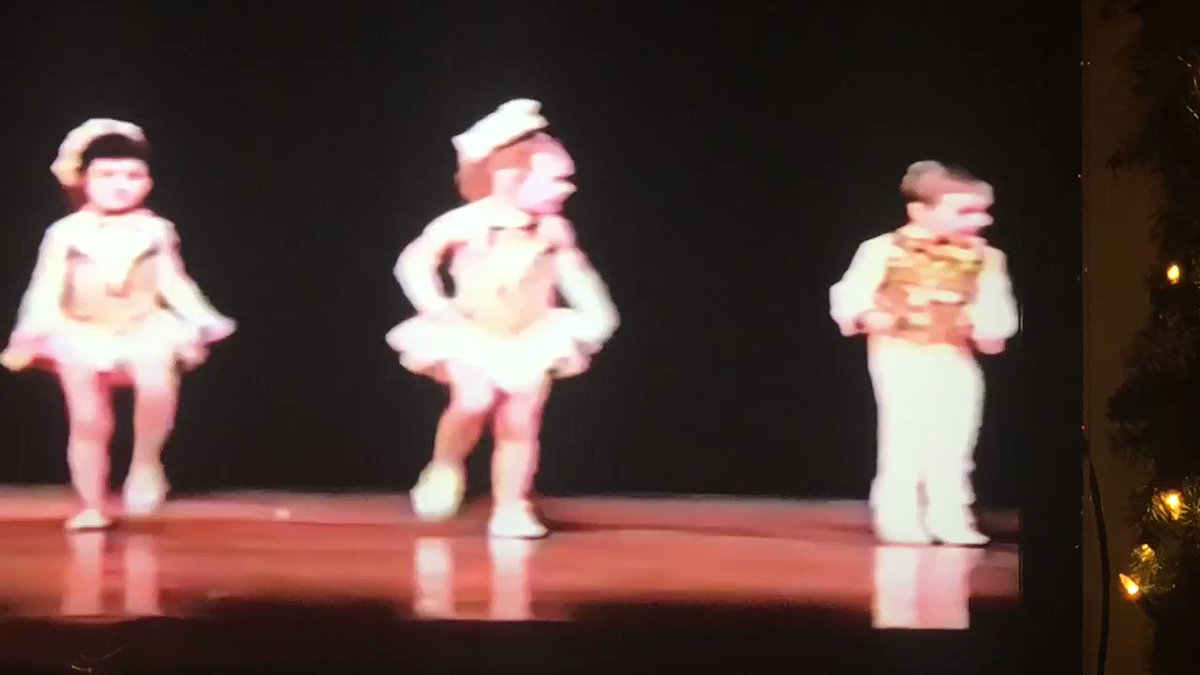 In lighter news — my mom and I found a video from a dance recital I did when I was 5  Behold...