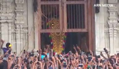 """Meet India's tallest Elephant- 56 years old Thechikkottukavu Ramachandran, fondly known among the elephant lovers as """"Raman"""" & enjoys a huge fan following across Kerala.   He opens the door of the Vadakkumnathan Temple for poora vilambaram for Thrissur pooram festival."""
