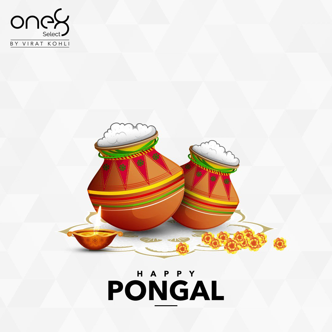 Wishing you all a very Happy Pongal! #one8 @one8world  . . . #happypongal #festivals #one8select #viratkohli #yourbestfootforward #occasions