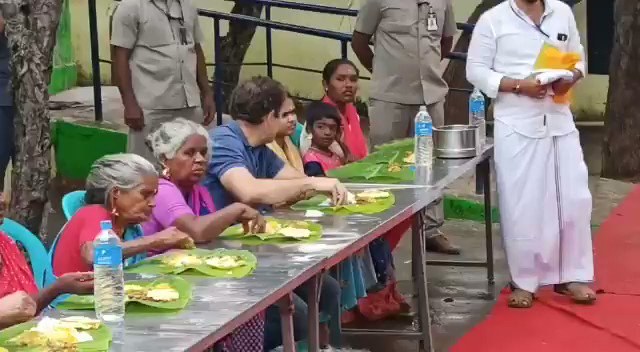 If thr is any Aaryan, he is d one 👇🏻.  Anyone who believes in AIT/AMT/ATT, they came nt in 1500 BCE bt in late 1970s from Italy 🇮🇹.   So called proud Tamilians who believe in any of d abv stated theories shld hv kicked him in his ass.   #RahulTamilTour