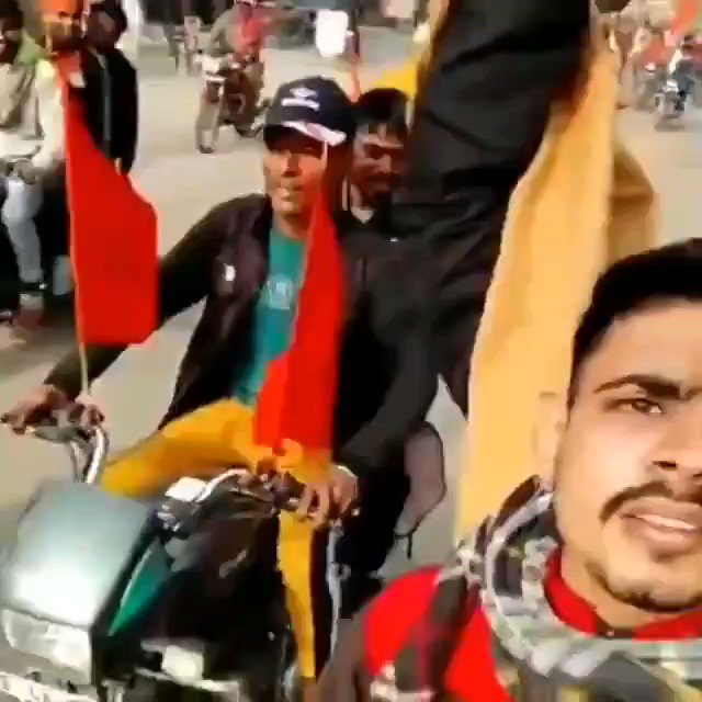 Warning: Abusive content  Men raise inflammatory slogans during a bike rally as a part of Ayodhya's Ram temple construction fund collection drive. The incident happened on Jan 13 in Shikarpur area in UP's Bulandshahar district. @Uppolice https://t.co/CmKkRz5aiS