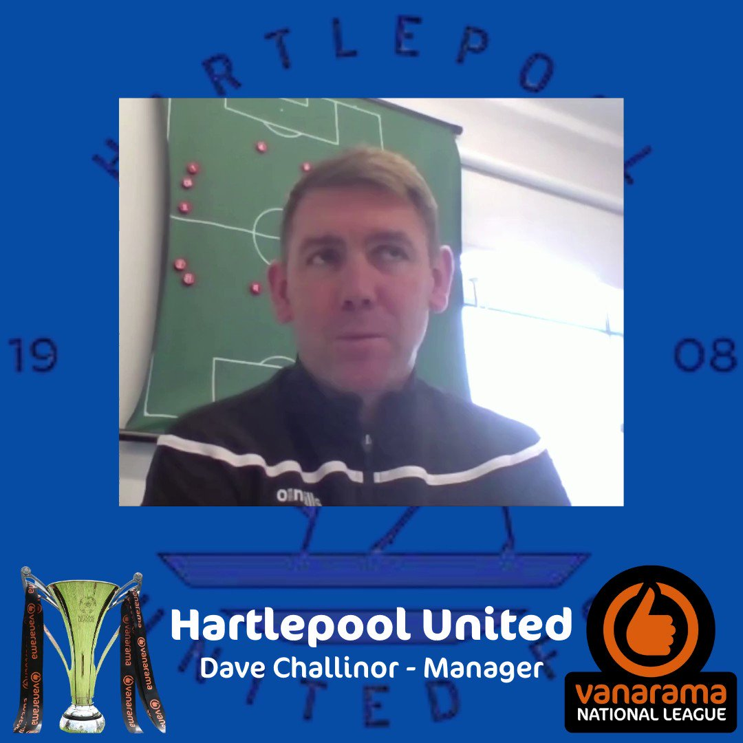 """🗣 """"There's a real special feeling about this group""""  Manager Dave Challinor shares insight into this season's togetherness at @Official_HUFC 🤝"""