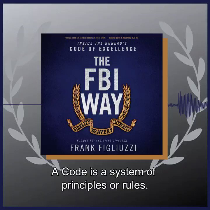 Let @FrankFigliuzzi1, the FBI's former head of counterintelligence, reveal the Bureau's field-tested playbook for unlocking individual and organizational excellence in THE FBI WAY -  @HarperCollins @customhousebks