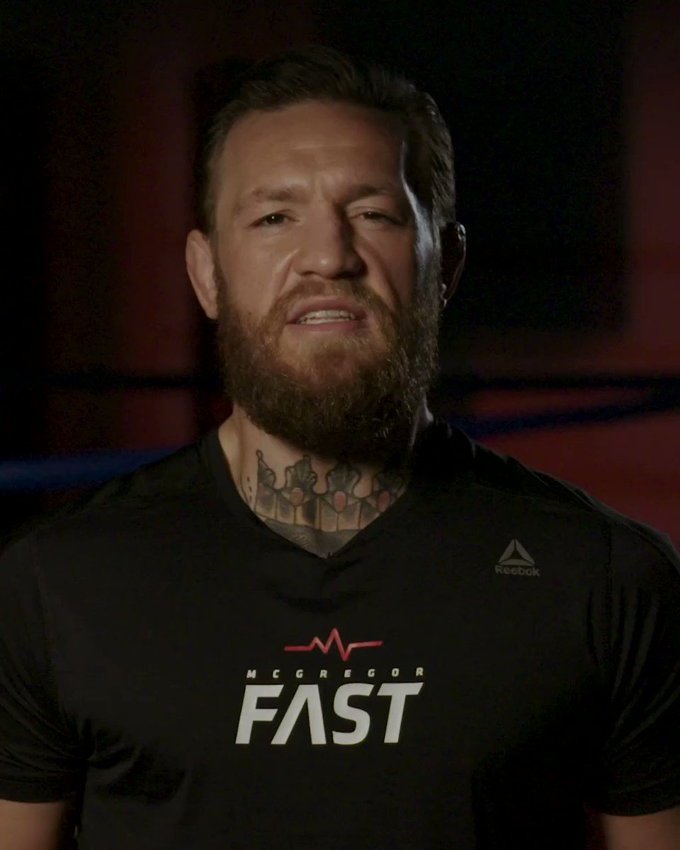 You asked, we listened. McGregor FAST is now available around the world 🌏 🌍 🌎 .  Now, athletes across the globe can train with the intensity and dedication of @TheNotoriousMMA. Download today for iOS and Android: