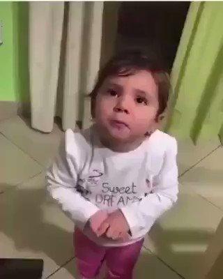 Italian kid has had enough. It's all giving her a headache