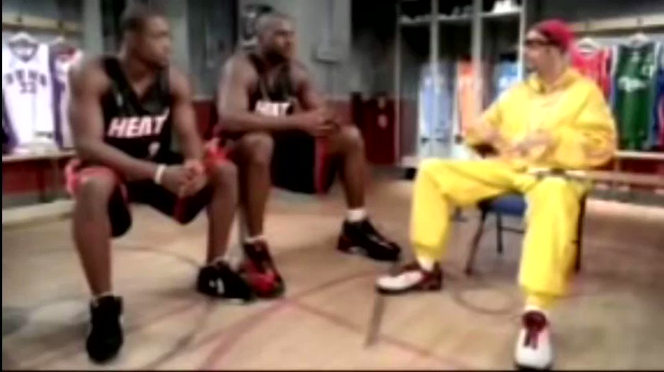 Blessing your timeline today with the time Ali G met Dwyane Wade