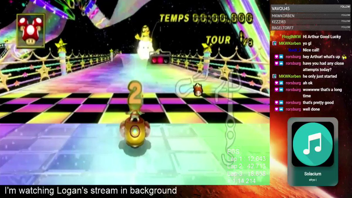 as seen on reddit, after 5 years and tens of thousands of attempts, @ArthuurrrP is the first human to achieve the Mario Kart Wii Rainbow Road ultra shortcut and lap successfully. Arthur the god