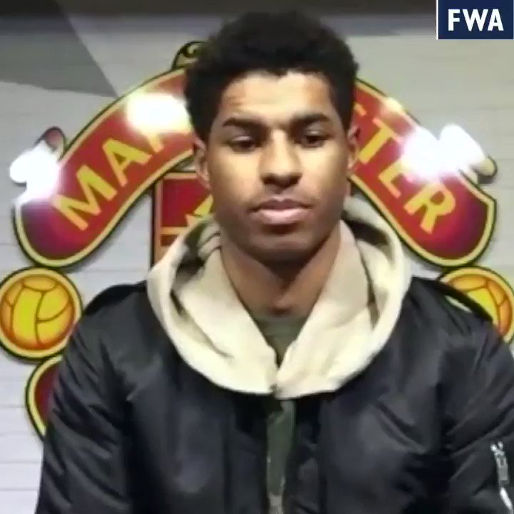"""It's an amazing feeling""   Marcus Rashford honoured to follow in the footsteps of former Manchester United legends by winning the FWA Tribute Award 🥇  🔗"