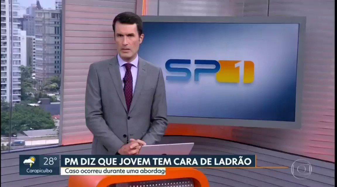 A fala do @Fabio_Turci hoje depois de mostrar um caso de racismo policial em Santos precisa estar aqui. Foi por momentos assim que eu estudei jornalismo.