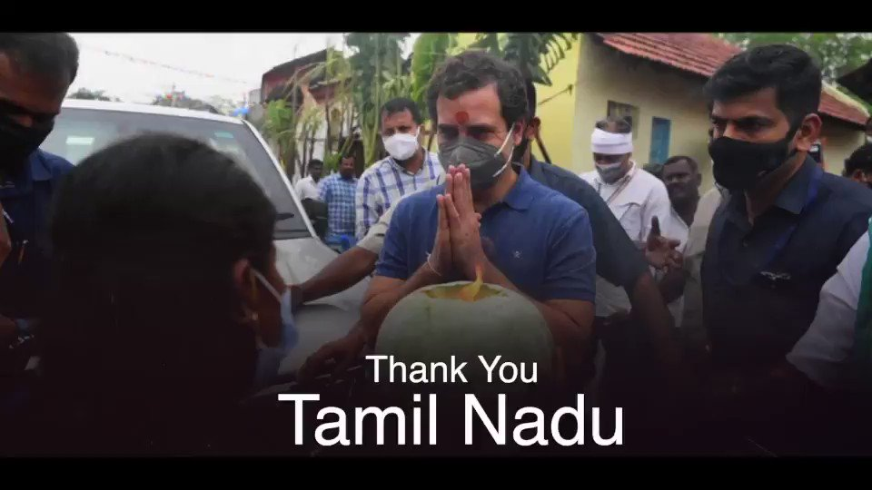 Thank you lovely people of Tamil Nadu.