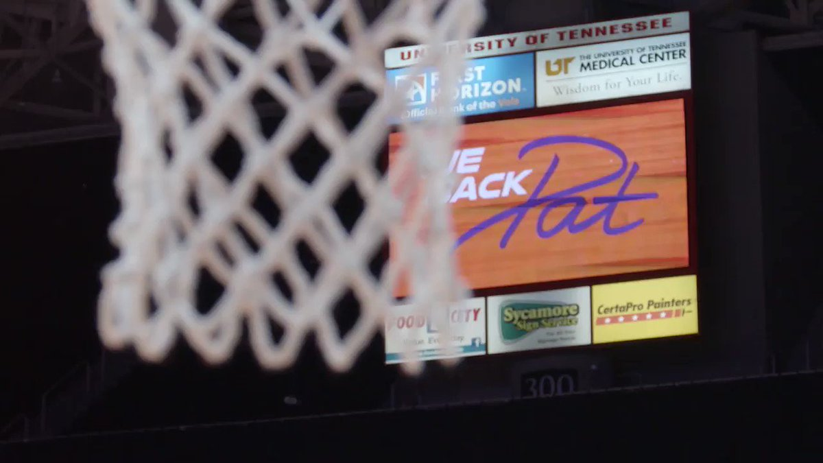 This year is the 10th anniversary of We Back Pat, and tonight's game kicks off the week of remembrance for our former coach.   🧡 #WeBackPat 💜