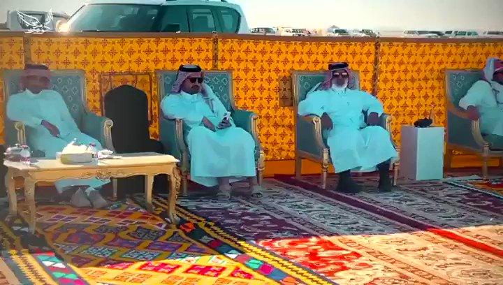 فيديو سعادة الشيخ جوعان بن حمد آل ثاني يشهد منافسات هدد التحدي بمسابقات مهرجان مرمي الثاني عشر