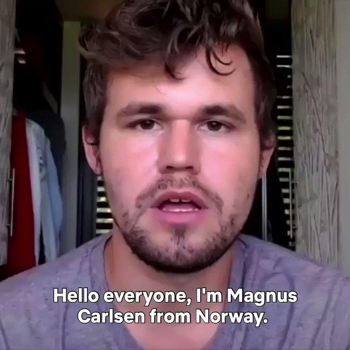 Chess has never been this nail-biting. Norwegian Grandmaster and World Chess Champion @MagnusCarlsen breaks down Beth Harmon versus Vasily Borgov in The Queen's Gambit's ultimate showdown. See full video here: