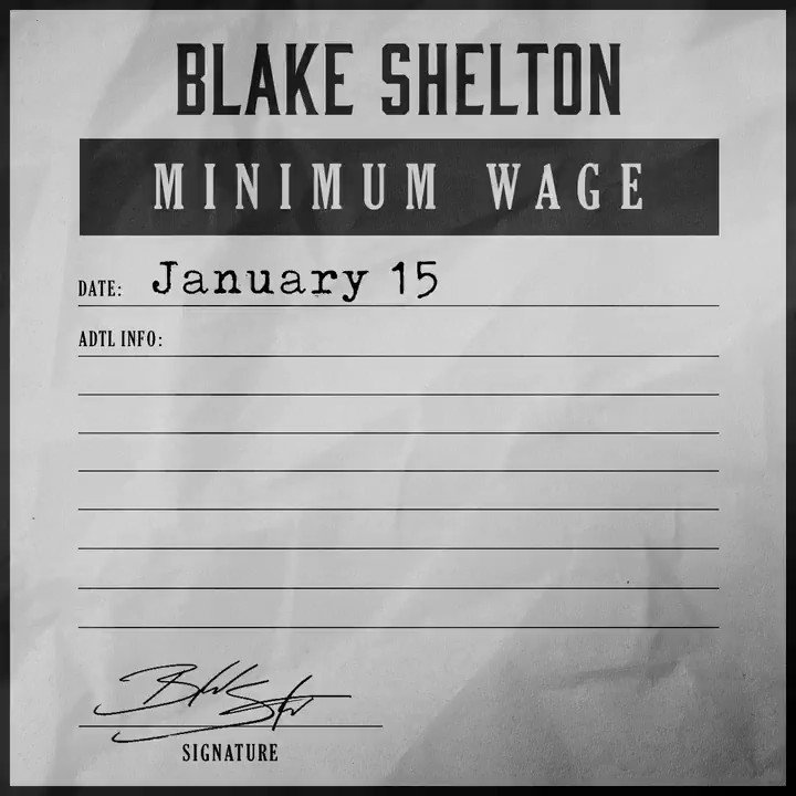 "One. More. Day. Who's ready?!?! Pre-save ""Minimum Wage"" NOW! - Team BS"