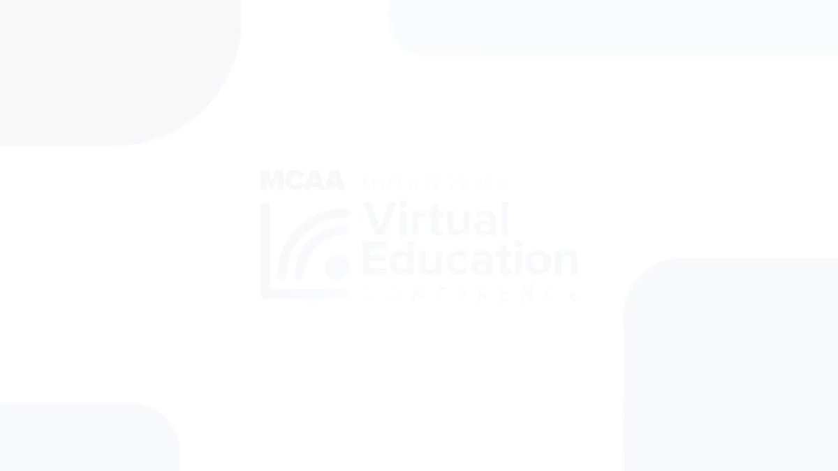 Image for the Tweet beginning: MCAA's Virtual Education Conference, March