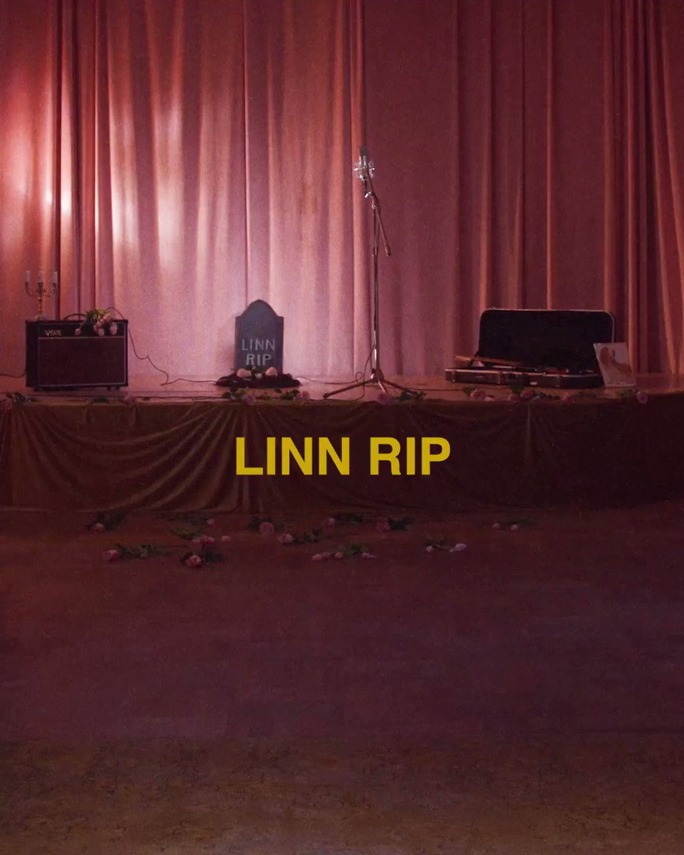 """It's about being sick and tired of yourself. To do the same mistake over and over until putting your personality on hold feels like the best solution. "" - @LinnKochEmmery  ""LINN RIP"" out now"