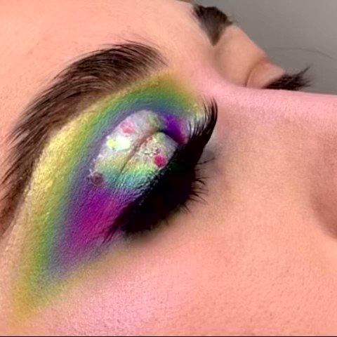 Glamlite Pro Paint Palette ✨💕 #mua #mmmitchel #mondaysbymitchell #makeupartist #vdaymakeup #valentinesdaymakeup #makeupinspo #makeupchallenge