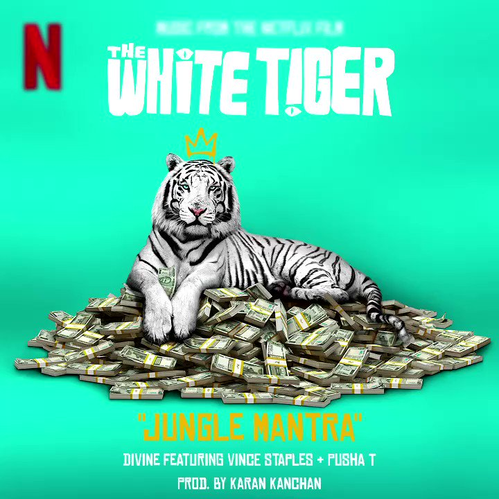 Very proud to be part of the team that curated, created & put this out into the world. @MassAppealIndia on behalf of @NetflixIndia for #WhiteTiger presents #JungleMantra... @VivianDivine feat @vincestaples x @PUSHA_  @priyankachopra @UMG @UATUMG @RajkummarRao