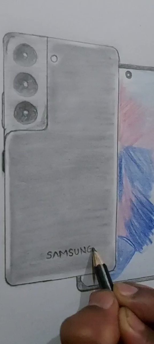HELLO @SamsungIndia @SamsungMobile I also get this #GalaxyS21 but in my way . ITS TOO COSTLIER.  SO I MADE MY OWN #SamsungUnpacked  👉STAY HAPPY WITH YOUR OWN WAY.  INSTAGRAM  - RAHULSKETCHSHOPPE #SamsungEvent #SamsungGalaxyS21Ultra #SamsungGalaxy #SamsungxBts #samsungs21series
