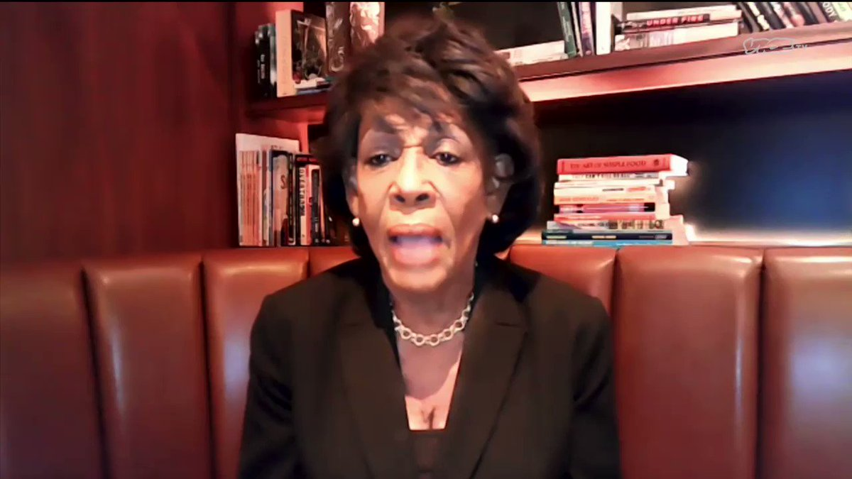 Tonight at 11:30p on @VICETV, our guest is @RepMaxineWaters. We ask the Congresswoman if the Capitol riots were an inside job. Her answers are extremely candid.