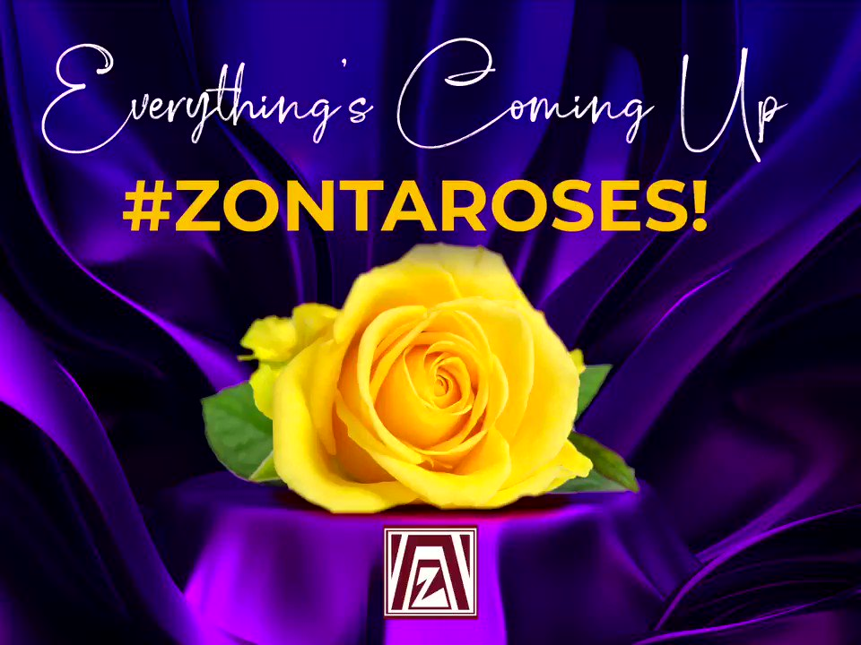💜💛🧡 EVERYTHING'S COMING UP ROSES! 🌹🌹🌹  IT'S LAUNCH DAY FOR ZONTA CELEBRATES INTERNATIONAL WOMEN'S DAY 2021 — TIME TO CELEBRATE THE SPECIAL WOMEN IN YOUR LIFE!  Watch to see 3 ways you can celebrate your Zonta Roses...    #zontarose #zontaoakville