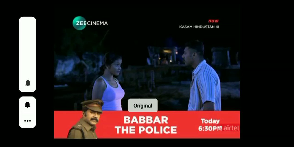 World Television Premiere  #BabbarThePolice ( Abrahaminte Santhathikal ) on #ZeeCinema Today at 6.30pm...  Megastar #Mammootty  #Mammukka  #AnsonPaul #Kaniha  #BabbarThePoliceOnZeeCinema  @MammukkaTrends  @MammukkaEditors  @MammukkafcTn  @MammukkaCults  @mammukkafo @MammoottyFC_