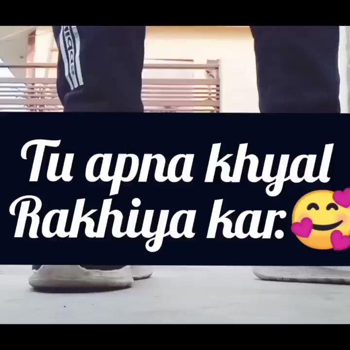 #dancelife 🥰❤️😋..my lil chocography song for tu apna khyal rakhiya kar...❤️😌 @iAmNehaKakkar @TonyKakkar @remodsouza @TSeries..#2021NYEL #tranding #Viral #feel #music #dancers ..😋❤️