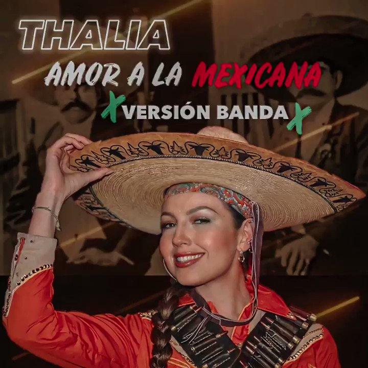 ¡No te pierdas el video de #AmorALaMexicana versión banda en la playlist #TRetro en mi canal de youtube!!! 🇲🇽♥️ ➡️