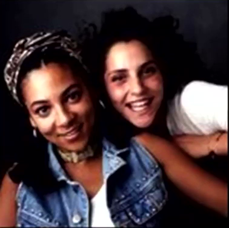 i never knew gwen stefani and eve covered the caribbean girl duo louchie lou & michie one's song. this came out in 1994!