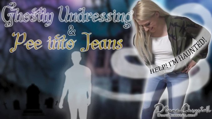Just sold! Ghostly Undressing Jeans Wetting haunted https://t.co/5PJGf0VK4q #MVSales https://t.co/pF