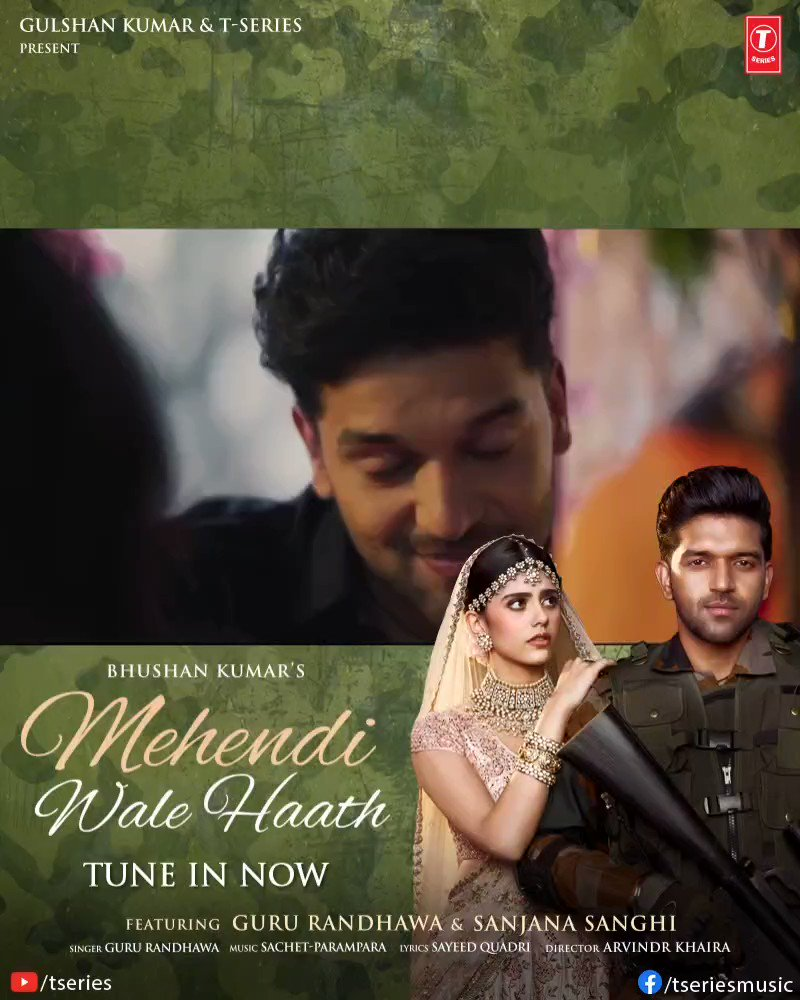 The tale of unconditional love and sacrifice has already made its way into all your hearts. #MehendiWaleHaath crosses 15M views in just 24hours. Tune in now:    #BhushanKumar @GuruOfficial @sanjanasanghi96 @SachetParampara @sachet_tandon @ParamparaTandon