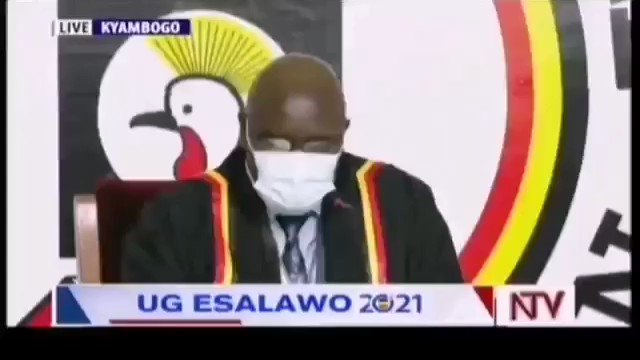 """RETWEET VIDEO! Listen Carefully, The Uganda Electro Commission doesn't even know the results they're announcing.  Asking eacher """"is this correct?"""" in front of all national media!   #WeAreRemovingADictator #UgandaDecides2021 #BobiWine #Uganda #UgandaElections #Museveni https://t.co/i8P7yefbOV"""