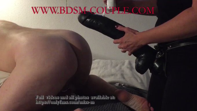 It's really AMAZING to watch slave p. take these HUGE TOYS!!!! 🤗😍  Enjoy: https://t.co/akWe8mDBVj https://t