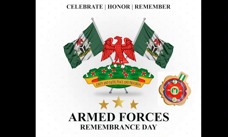 #ArmedForcesRemembranceDay Today we remember our fallen heroes, men and women of the #ArmedForces who have paid the supreme price to safeguard our nation. Your sacrifices are not in vain, thank you for laying down your lives. @DefenceInfoNG #VeteransDay #ArmedForcesDay #Military