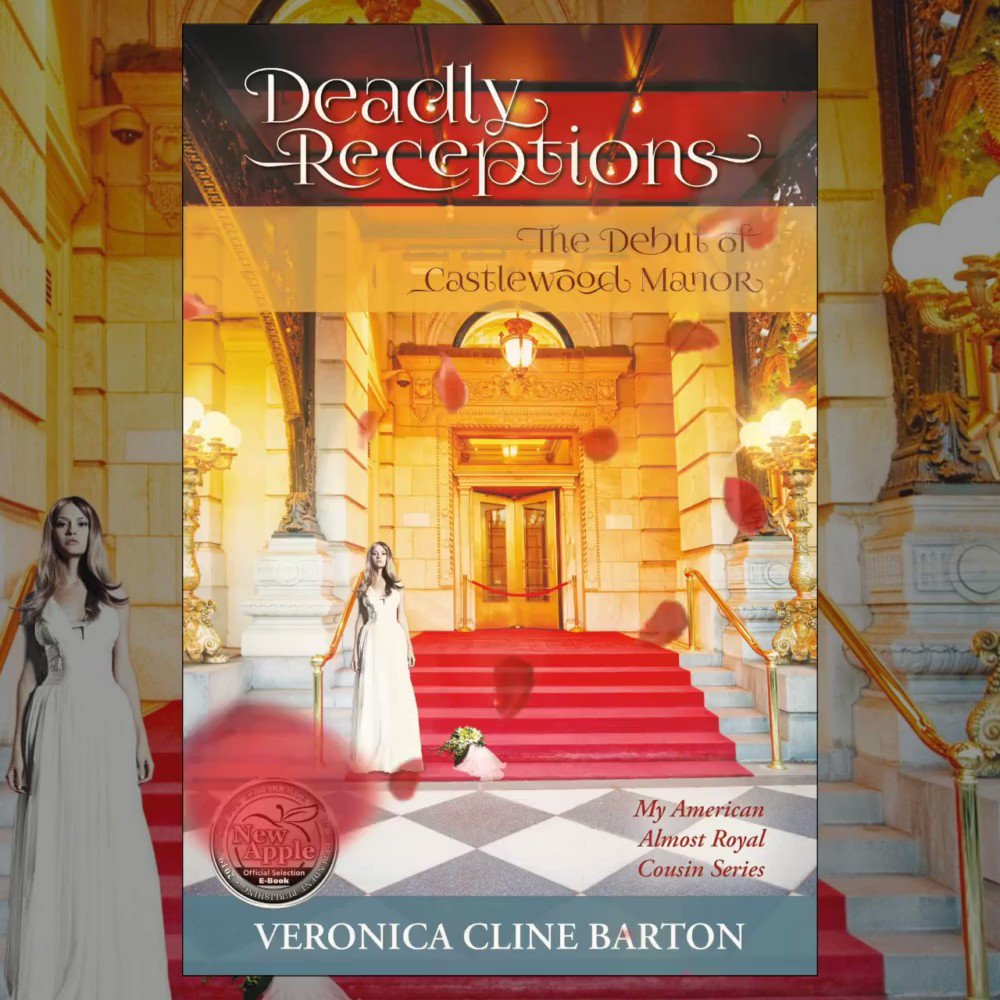 💖Deadly Receptions: The Debut of Castlewood Manor👑  A #RoyalWedding like no other, tension on the #redcarpet & #lovesick revenge take a deadly turn...💖👑🕵️♀️🍸 #CozyMystery #MurderMystery #Romance #Luxury #Travel #BookLovers #WritersWhoRead #ReadingChallenge2021 #TBR #Books 🌹📚