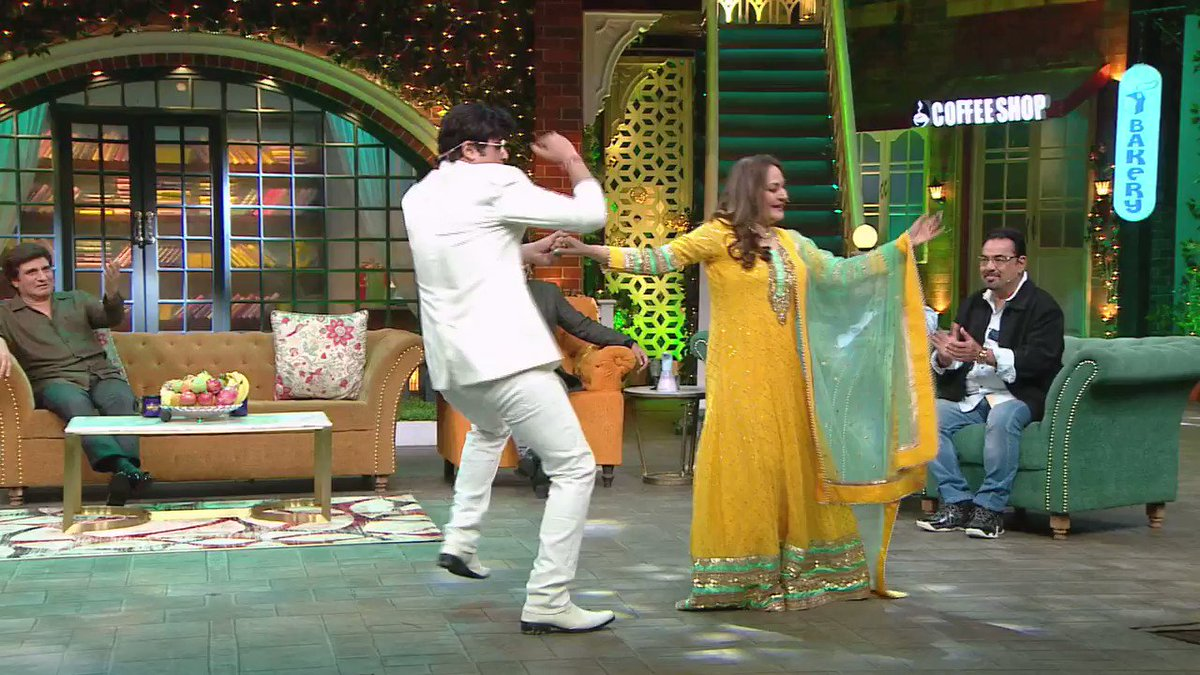 .@Krushna_KAS #Jeetendra Ji mimicry that left @RajBabbarMP & #JayaPrada gasping for breath !!  Catch the yesteryear superstars this weekend on #TheKapilSharmaShow at 9:30 PM ET/PT on #SonyTV #SonyTVUSA @KapilSharmaK9 @apshaha @kikusharda @haanjichandan @sumona24  #Ihanadhillon