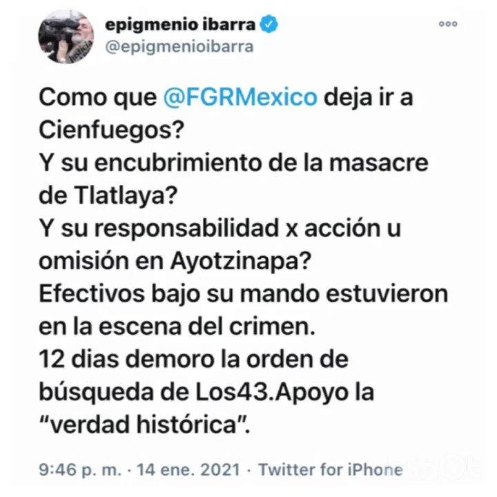 Image for the Tweet beginning: ㅤ ┏━━┓ ┗┃┃┛ ┏┃┃┓ ┗━━┛ ✍️#M ┏━┓ ┃╋┃ ┃┏┛ ┗┛#SalvadorCienfuegos ╔╦╗ ║║║ ╚═╝#AMLO ✍️#N ╔╗ ╠╣ ║║ ╚╝#Ayotzinapa ///┏┓ ┏┛┃#Tlatlaya... ┃╋┃ ┗━┛ ✍️#A ░╔╗ ╔╝║ ║╬║ ╚ #ImpunidadAYOTZINAPA #NiPerdonNiOlvidoAyotzi🐢 #Ayotzi .