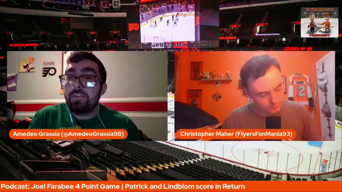 New Episode of the Flyer'd Up Podcast  @AmedeoGrassia98 & @_ChrisMaher react to the Flyers season opening 6-3 win over the Penguins, what were the main takeaways from the win?  I #AnytimeAnywhere I #Flyers I #HockeyTwitter I @FlyerdUpPodcast I