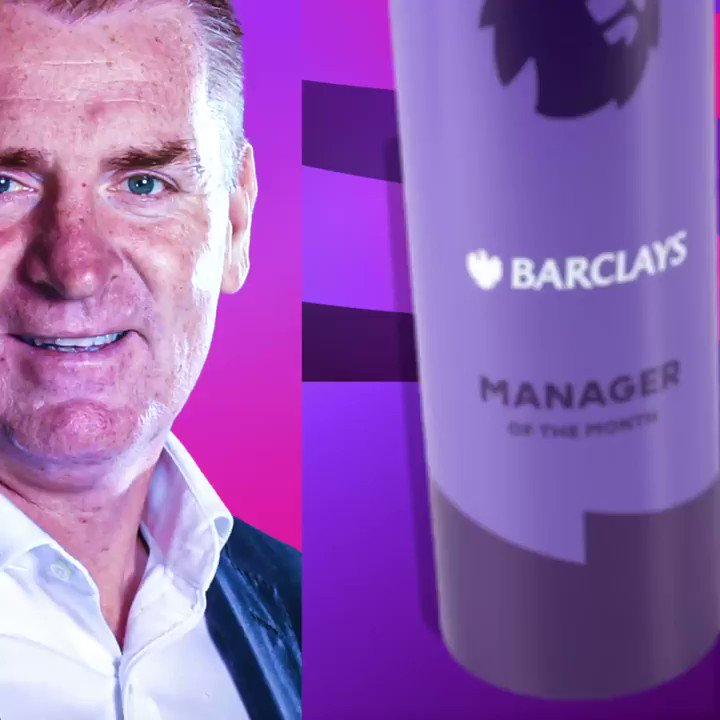 4⃣ CLEAN SHEETS  3⃣ WINS 2⃣ DRAWS 1⃣ DEFEAT  @AVFCOfficial's Dean Smith is December's Manager of the Month ✨ #PLAwards