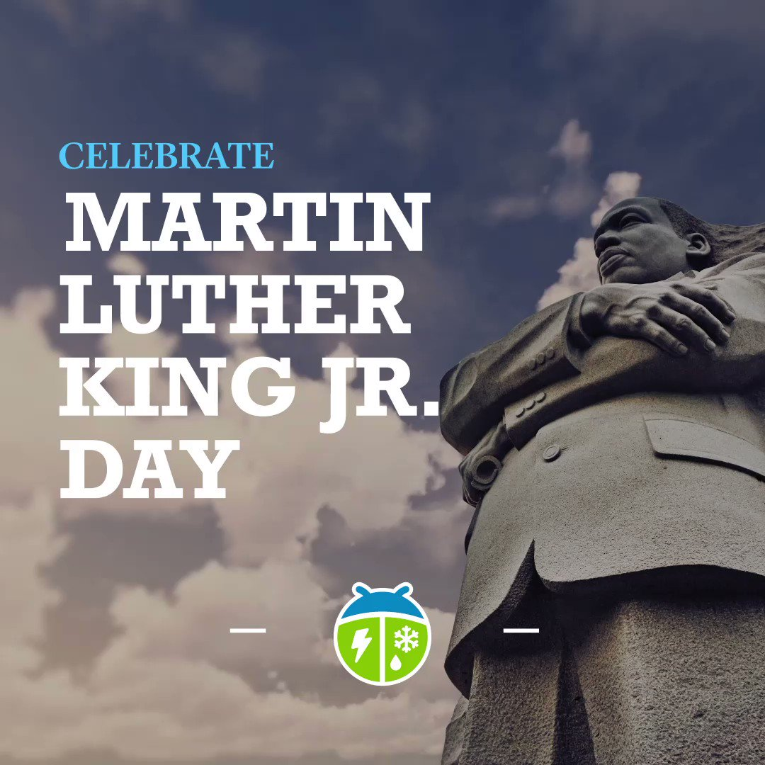 Remembering Dr. Martin Luther King, Jr. on his birthday !  #WeatherBug #knowbefore #wx #weather #martinlutherking #IHaveADream #FightThePower #MartinLutherKingJR #MLKDay #January