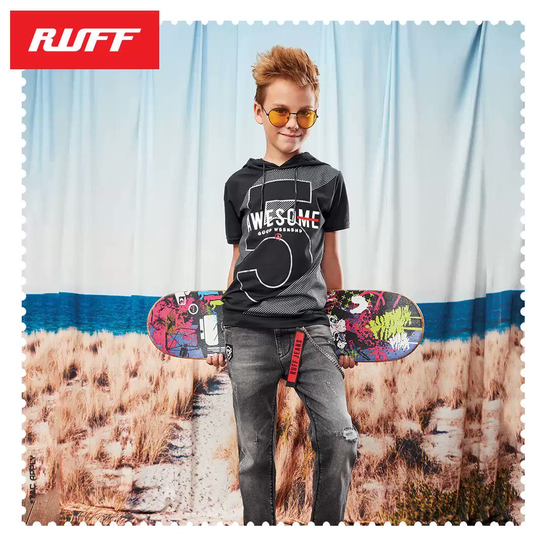 The BIG SALE is here!  Now get upto 50% OFF on the Trendiest collections by RUFF.  Visit your nearest RUFF store today! Or shop via WhatsApp: +919867076444  Offer also available online exclusively on Myntra:   #RUFF #BoysWear #EOSS